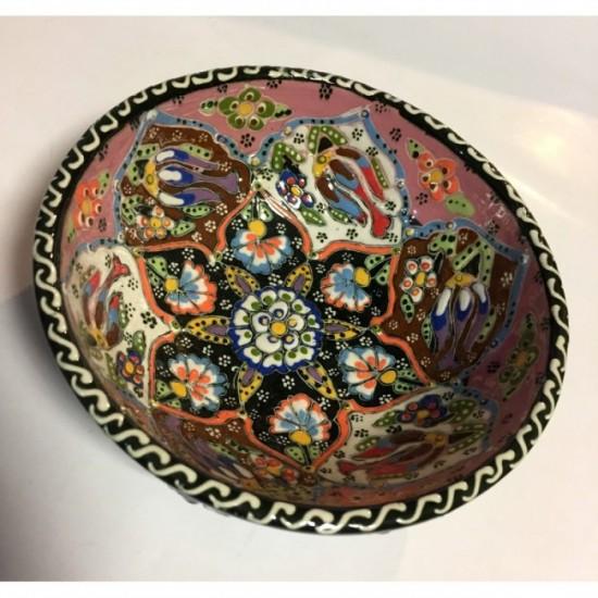 15cm Kabartma Desen Kase