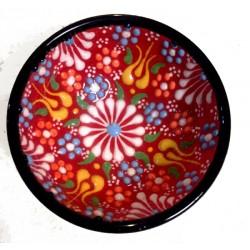 5cm Seramik Dantel Desen Kase