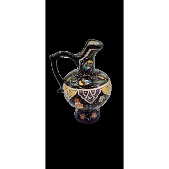 20cm Aslan Ağızı Kabartma Vazo