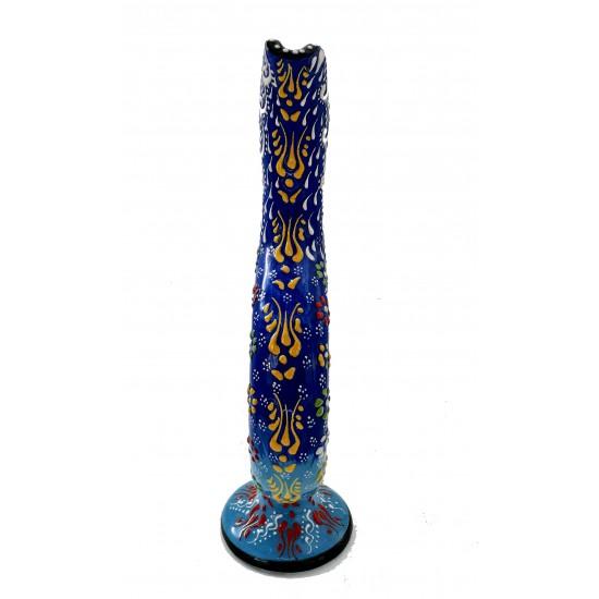 30cm Dantel Desen Hitit Vazo